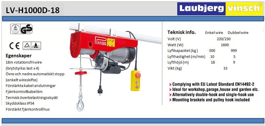 LV-H1000 S rr