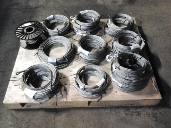 stålvajer för elvinsch