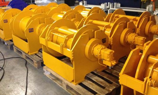 hydrauliska vinschar m pressure roller