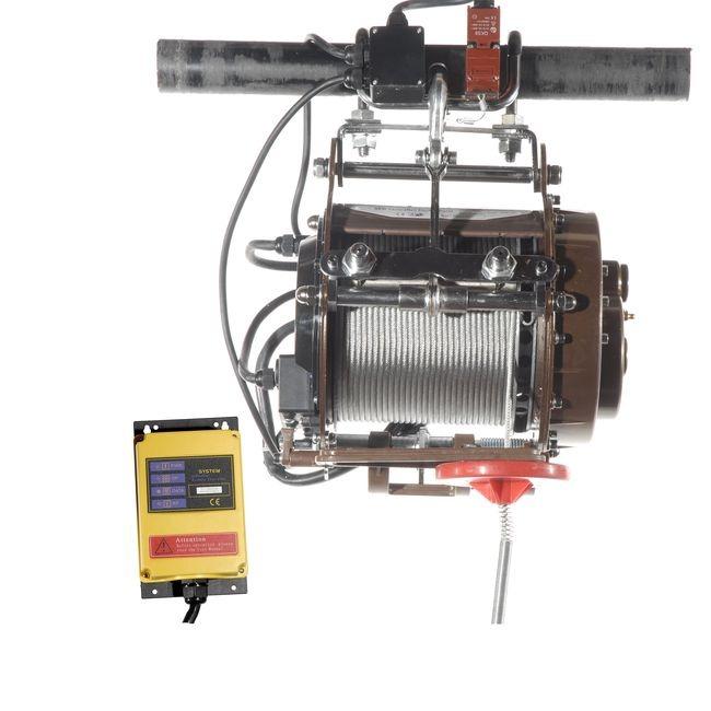 Omtyckta Lyftvinsch IP67 230v. Vattentät upp till IP67. Lyfter 250 kg i 30m OB-99