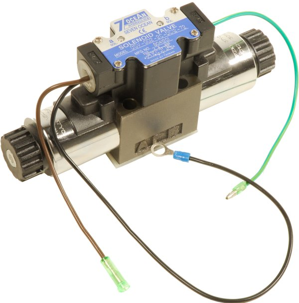 24v hydraulisk ventil H-modell