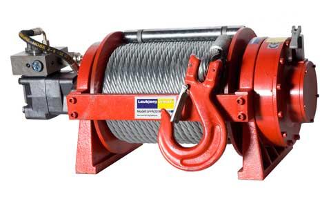 Hydraulivinsch drag 20000lbs