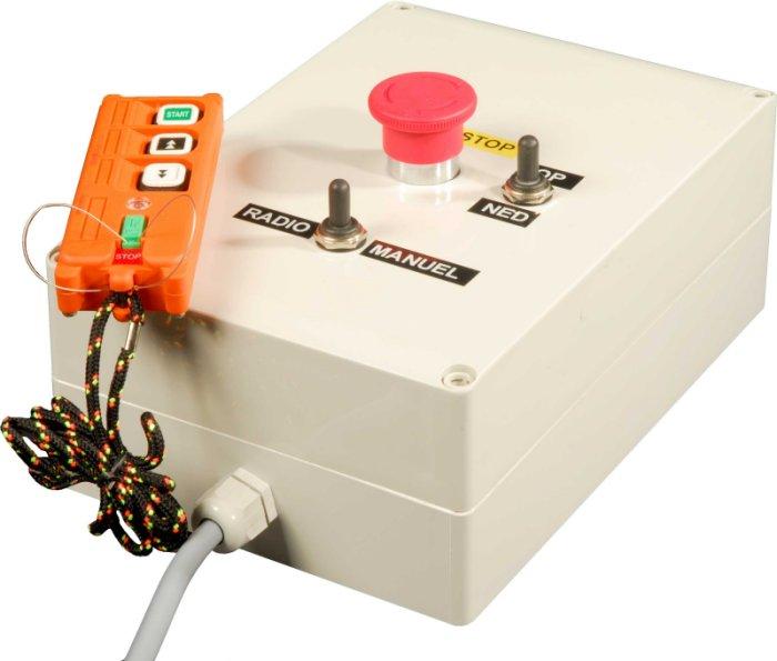 Trådlös fjärrkontroll 220V-380V